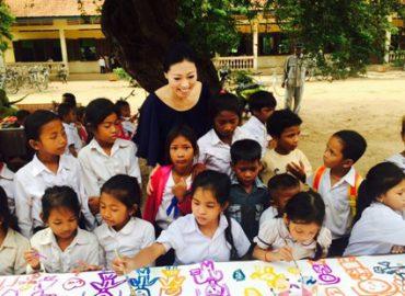 アートを通してつながる世界~Kids helping Kids~
