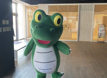 めっちゃがんばる人を応援、大阪大学「ワニ博士」